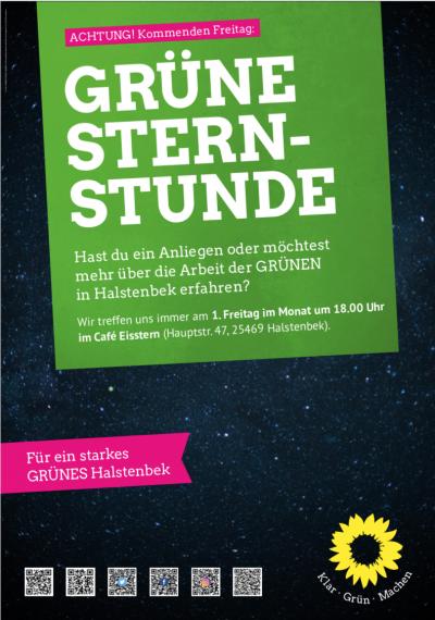 Grüne Sternstunde @ Café Eisstern