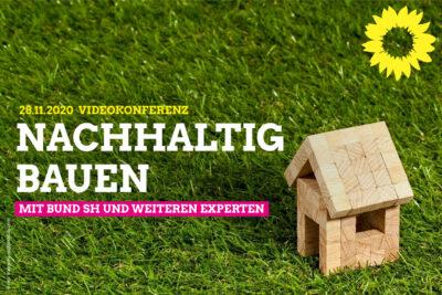 Nachhaltig Bauen: Austausch mit dem BUND SH @ Videokonferenz