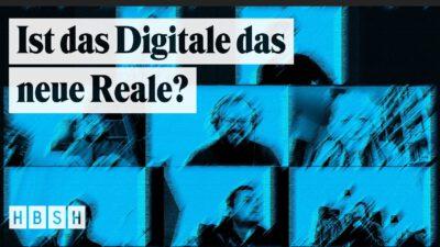 Ist das Digitale das neue Reale? Live auf facebook