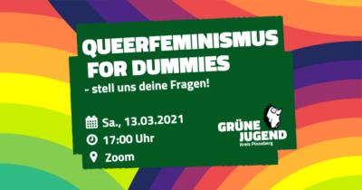 Queerfeminismus for Dummies mit der Grünen Jugend @ via Zoom