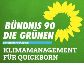 B'90/DIE GRÜNEN - Klimamanagement für Quickborn